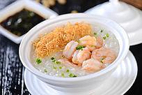 营养鲜虾粥