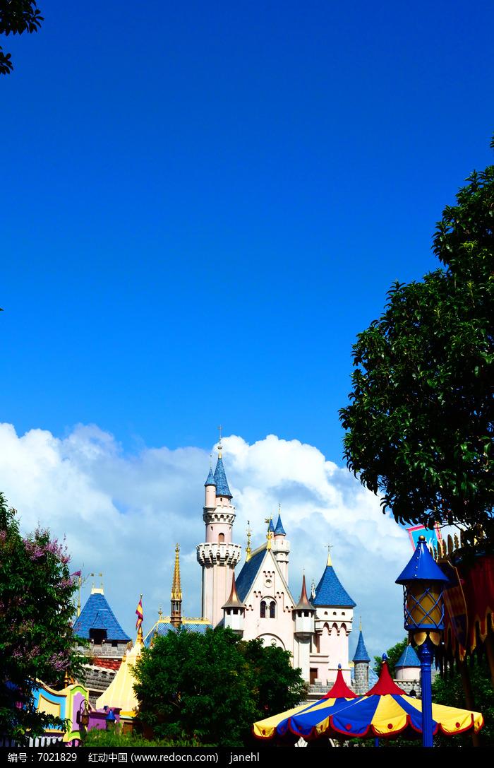 迪士尼城堡图片