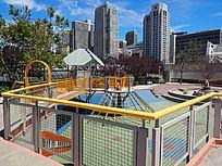 现代城市户外儿童活动场地