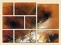 现代装饰画 客厅背景墙 玄关壁画