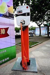 新能源汽车充电桩 全景