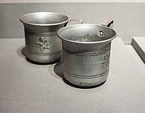 百团大战中缴获的铝制水杯
