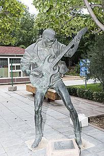 摇滚青年艺术雕刻