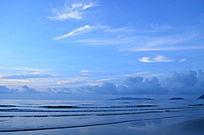 壮丽的海天相接风光图片