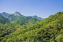 千山无量观看弥勒宝塔山峰山脉
