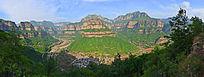 河南太行峡谷风光