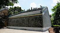 灰砖寺庙建筑