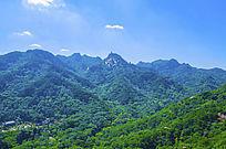 千山弥勒宝塔山峰山脉与灵岩寺