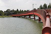 上海迪士尼星愿公园入口引桥