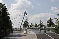 上海迪士尼星愿湖上的奇幻桥