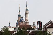 上海迪士尼园内城堡
