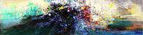 时尚抽象油画图片 软装配画