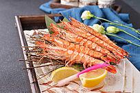 盐烤串串虾