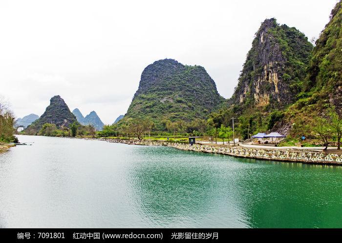 遇龙河自然风景