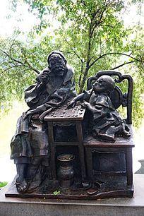 城市人物雕像
