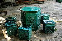 传统陶瓷家具