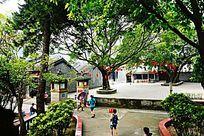 寺庙园林景观