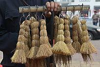 街头卖刷锅刷子