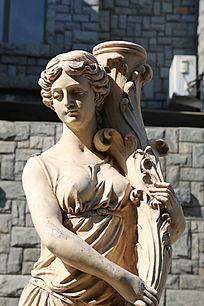 古代欧洲美女雕像