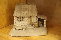 农家小院瓷雕