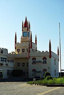 欧式风格的海景酒店