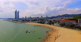 海滨城市风光