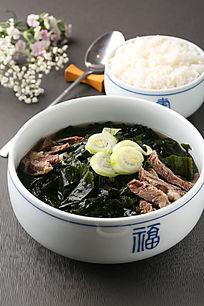 紫菜羊肉汤