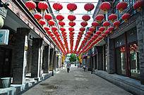 鲜鱼口美食街与红灯笼