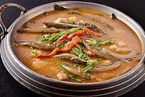 泥鳅芋艿锅仔