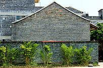 青砖墙建筑