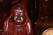 红木人物雕刻