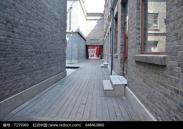 哈尔滨老道外中华巴洛克建筑回廊