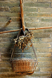 农家盛物篮