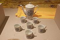 回族经文瓷器