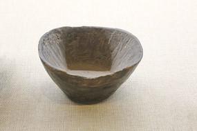 抗战时期无人区的自制木碗