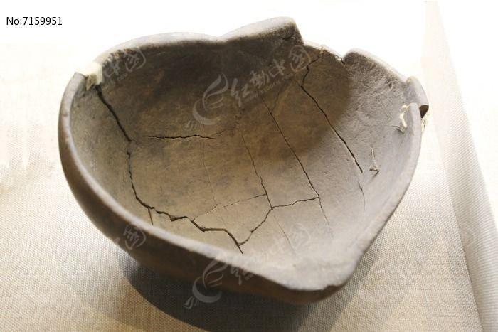 抗战时期自制木碗图片