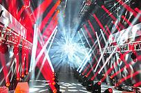 斑斓舞台灯光