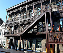 中华巴洛克建筑楼梯