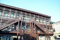 中华巴洛克建筑走廊