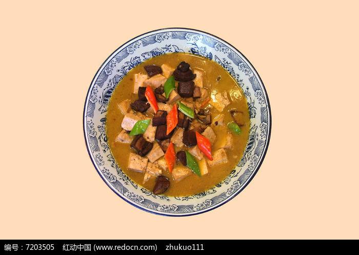 红烧肉炖豆腐图片