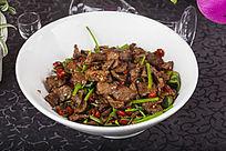 芹菜麻辣牛肉片