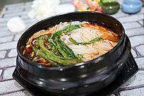 青菜石锅面