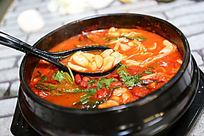 蒜香石锅汤