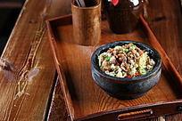 石锅有机菜花