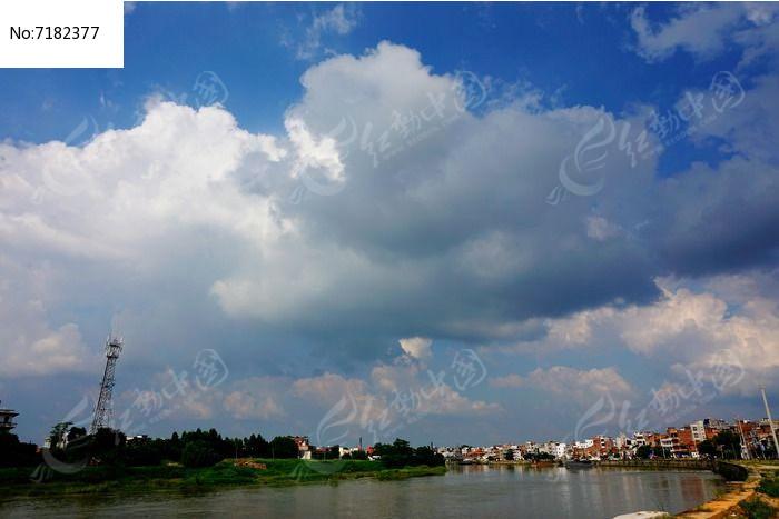 水乡小镇风光图片