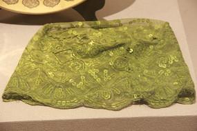 绿色少数民族头巾