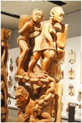 木雕人物技艺