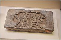 宋代兰花纹砖