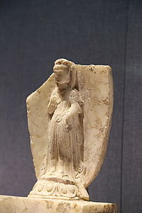 东魏时期的修德寺观世音菩萨立像
