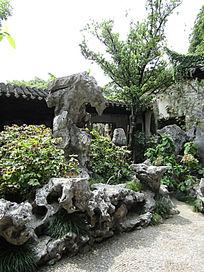 留园太湖石